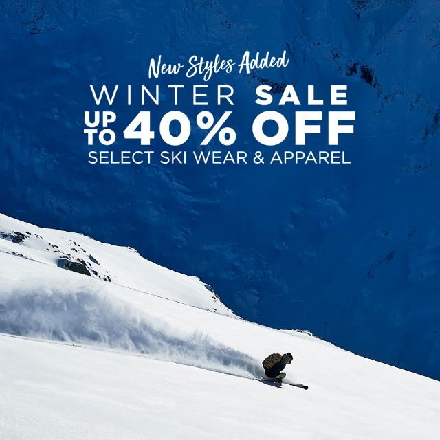 Winter Sale 25% off